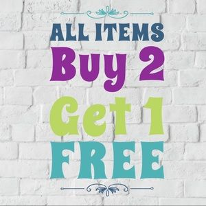 Other - All items buy 2 get 1 FREE